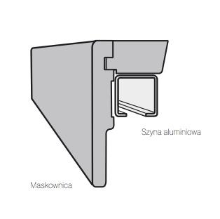 Покриваща греда и алуминиева релса