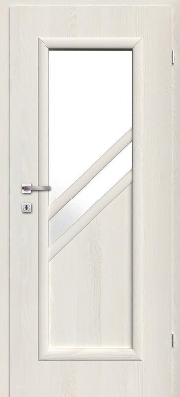 Врата Kласен цвят Ясен бял Примо фолио м.2 - 200.00 лв.