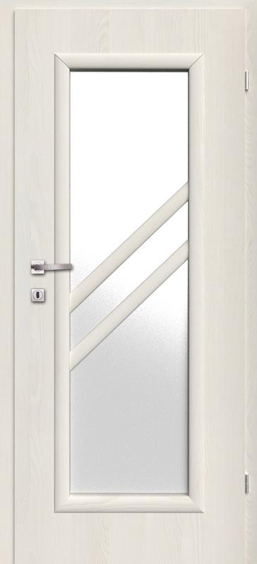 Врата Kласен цвят Ясен бял Примо фолио м.3 - 220.00 лв.