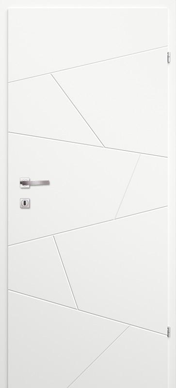 Врата Classen Бял лак UV м.2.12