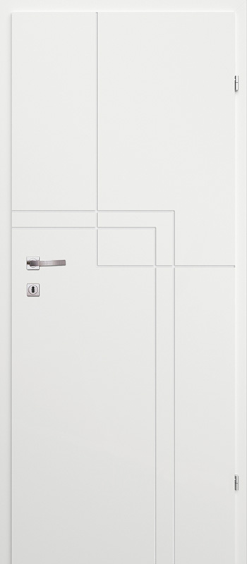 Врата Класен Бял лак UV м.2 - 240.00 лв.