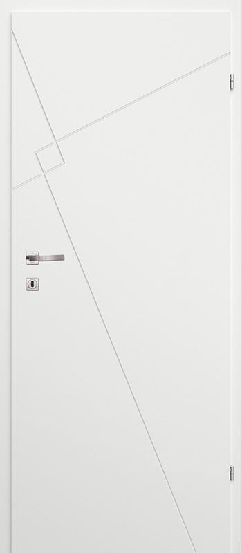 Врата Classen Бял лак UV м.3