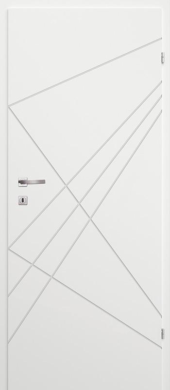 Врата Classen Бял лак UV м.4