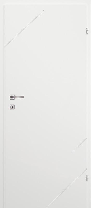 Врата Classen Бял лак UV м.6