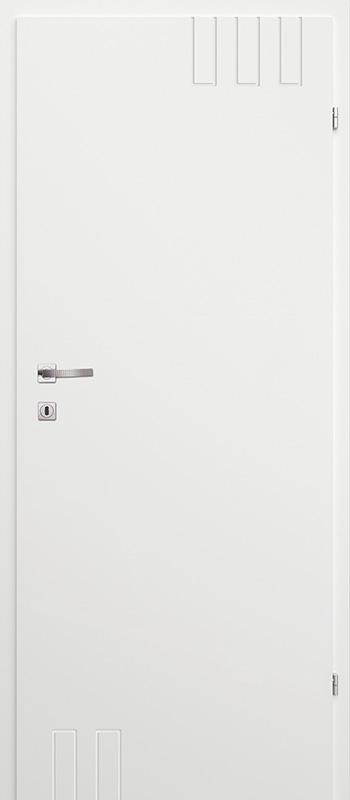 Врата Classen Бял лак UV м.7