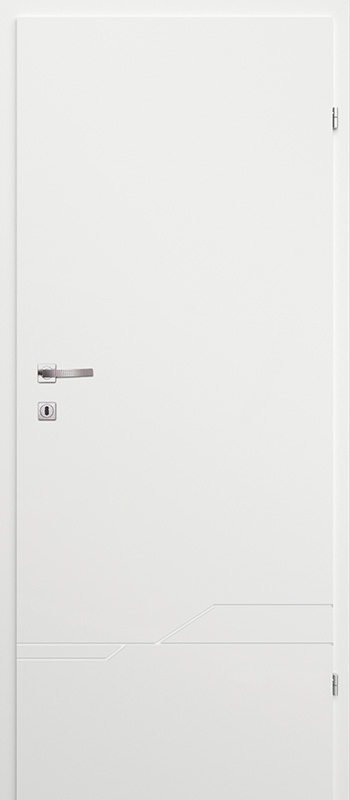 Врата Classen Бял лак UV м.8