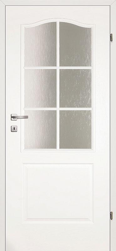 Врата Kласен Класик цвят Бял УВ лак