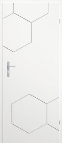 Врата Classen Бял лак UV м.2