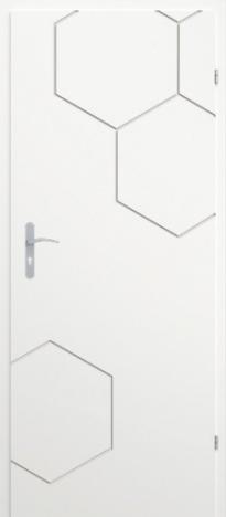 Врата Classen Бял лак UV м.1