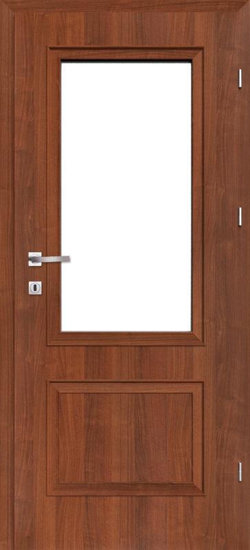 Врата Класен цвят Гръцки орех CPL ламинат фолио мод.2 - 380.00 лв.