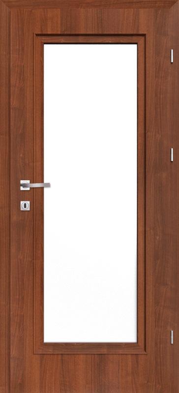 Врата Класен цвят Гръцки орех CPL ламинат фолио мод.4 - 380.00 лв.