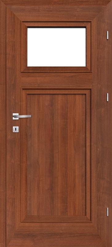 Врата Класен цвят Гръцки орех CPL ламинат фолио мод.5 - 349.00 лв.