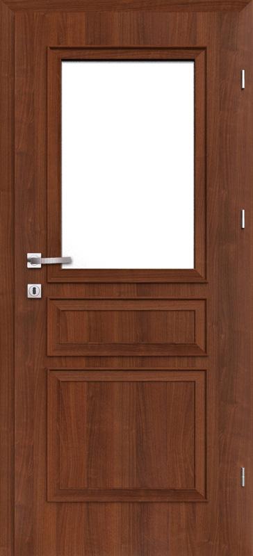 Врата Класен цвят Гръцки орех CPL ламинат фолио мод.7 - 340.00 лв.
