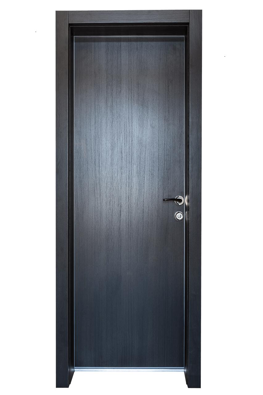 Врата за баня Поглед отвън - Тъмен дъб