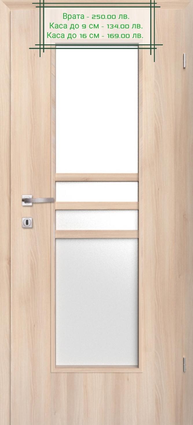 Врата Classen Деметър м.2  Ясен сняг CPL ламинат фолио  -  250.00 лв.