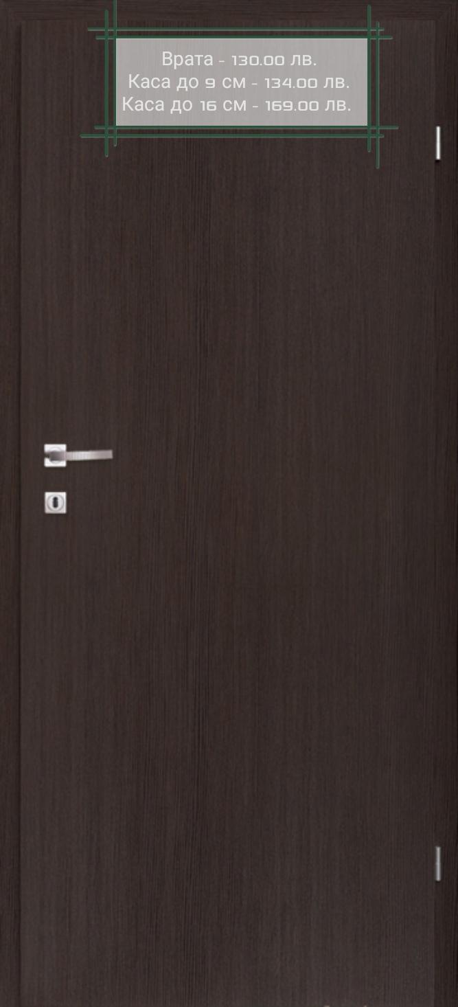 Врата Classen Сенчъри м.1  Тъмен дъб CPL Irid ламинат фолио -  130.00 лв.