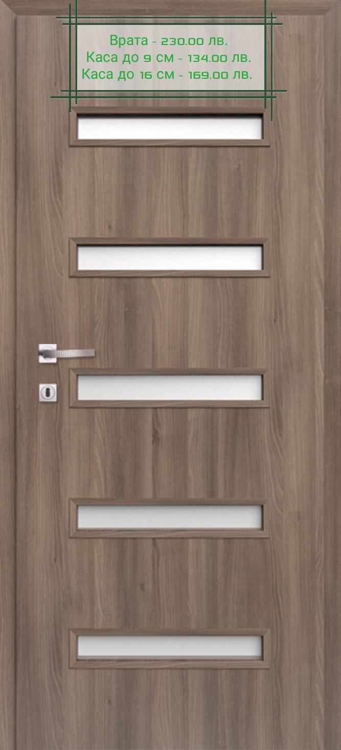 Врата Classen Сенчъри м.7  Ясен графит CPL Irid ламинат фолио  - 230.00 лв.