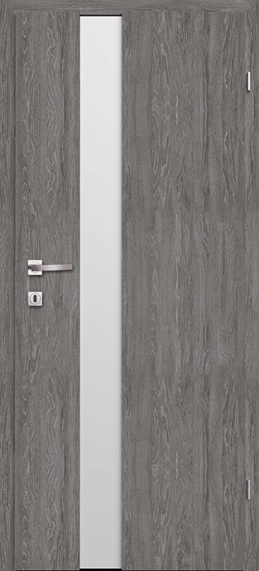 Врата Класен цвят Дъб Гриджио CPL ламинат фолио мод.1 - 410.00 лв.