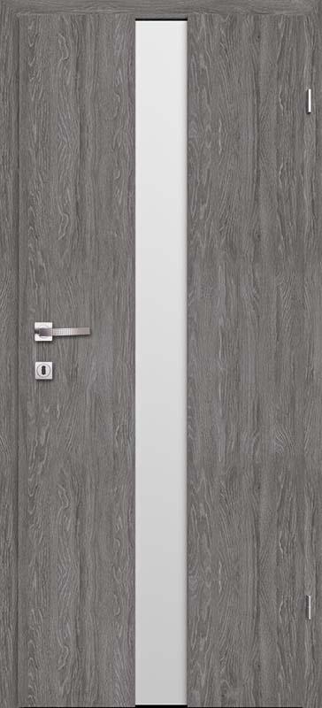 Врата Класен  цвят Дъб Гриджио CPL ламинат фолио мод.2 - 410.00 лв.