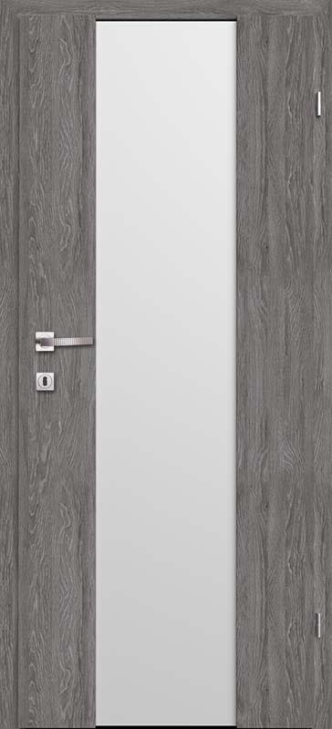 Врата Класенцвят Дъб Гриджио CPL ламинат фолио  мод.3 - 430.00 лв.