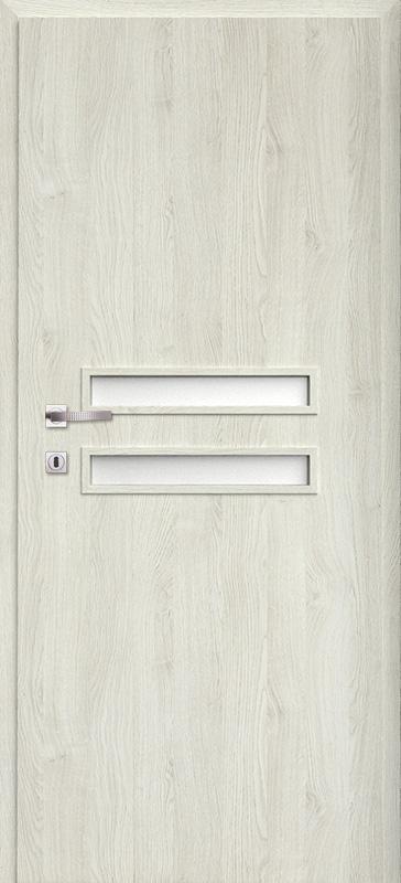 Врата Класен цвят Сив дъб Примо фолио м.2 - 170.00 лв.
