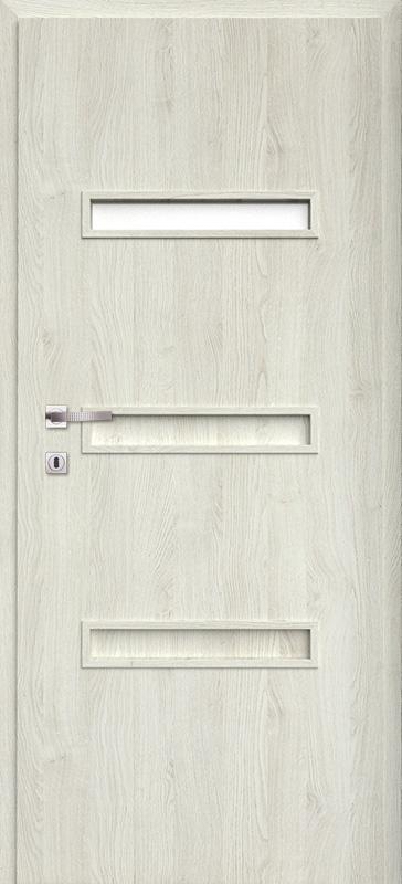Врата Класен цвят Сив дъб Примо фолио м.4 - 170.00 лв.