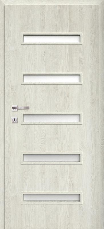 Врата Класен цвят Сив дъб Примо фолио м.7 - 220.00 лв.