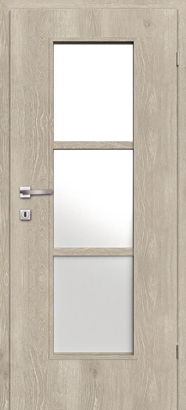 Врата Класен Дъб Кендал CPL ламинат фолио мод.3 - 250.00 лв.
