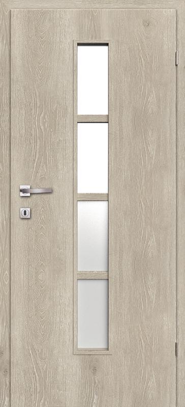 Врата Класен Дъб Кендал CPL ламинат фолио мод.4 - 250.00 лв.