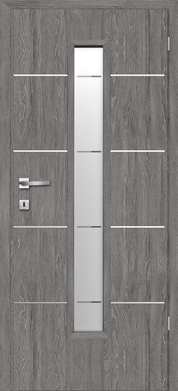 Врата Класен Дъб Гриджио CPL ламинат фолио мод.10 - 320.00 лв.