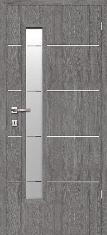 Врата Класен Дъб Гриджио CPL ламинат фолио мод.11- 320.00 лв.