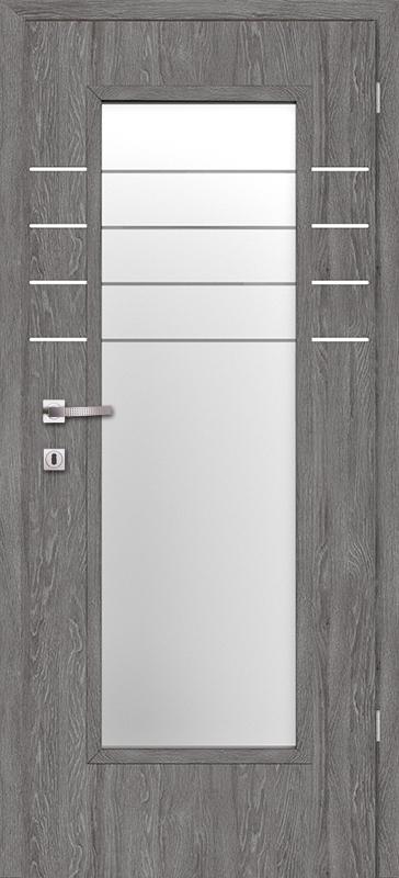 Врата Класен Дъб Гриджио CPL ламинат фолио мод.2 - 320.00 лв.