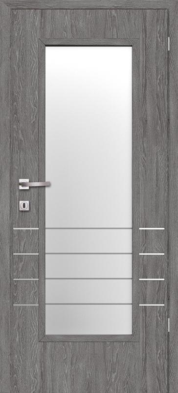 Врата Класен Дъб Гриджио CPL ламинат фолио мод.3 - 320.00 лв.