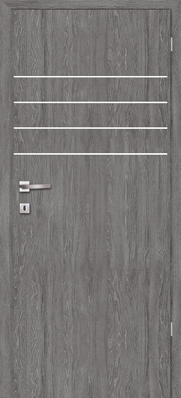Врата Класен Дъб Гриджио CPL ламинат фолио мод..5 - 290.00 лв.