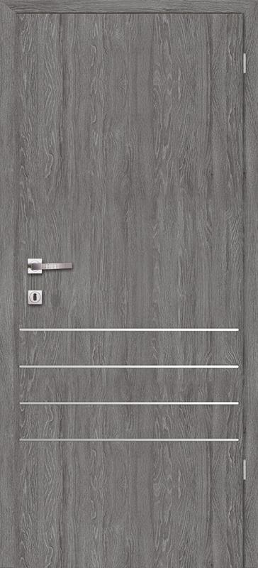 Врата Класен Дъб Гриджио CPL ламинат фолио мод.6 - 290.00 лв.