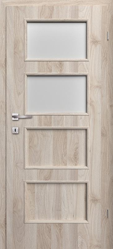 Врата Класен цвят Орех светъл Примо фолио м.2/4 - 240.00 лв.