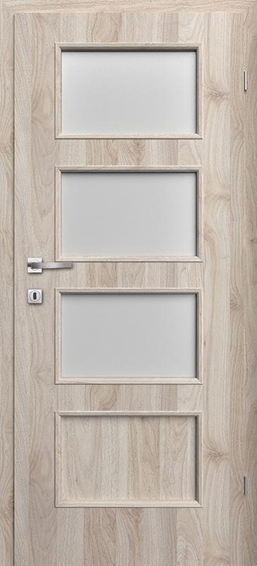Врата Класен цвят Орех светъл Примо фолио м.3/4 - 240.00 лв.