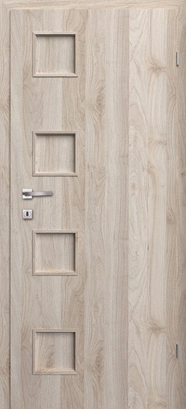 Врата Класен цвят Орех светъл Примо фолио м.1 - 190.00 лв.