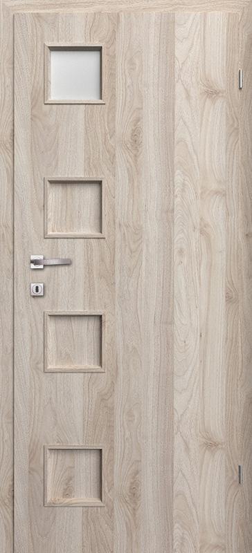 Врата Класен цвят Орех светъл Примо фолио м.1/4 - 210.00 лв.