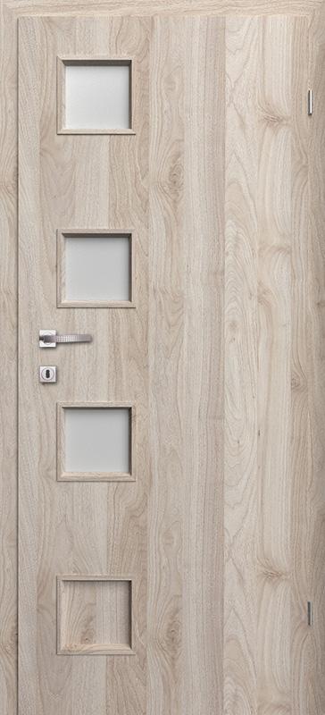Врата Класен цвят Орех светъл Примо фолио м.3/4 - 220.00 лв.