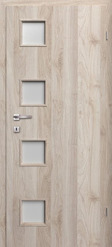 Врата Класен цвят Орех светъл Примо фолио м.4/4 - 220.00 лв.