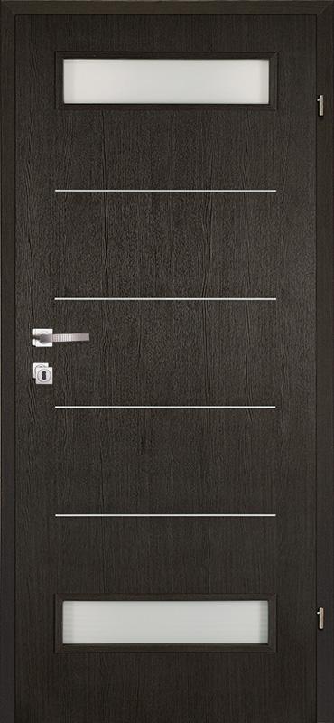 Врата Kласен цвят Венге CPL ламинат фолио мод.3 - 310.00 лв.