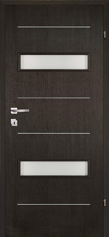 Врата Kласен цвят Венге CPL ламинат фолио мод.4 - 310.00 лв.