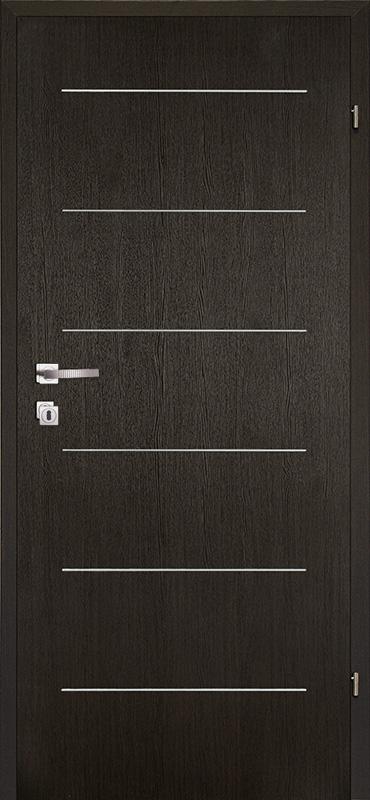 Врата Kласен цвят Венге CPL ламинат фолио мод.5 - 310.00 лв.