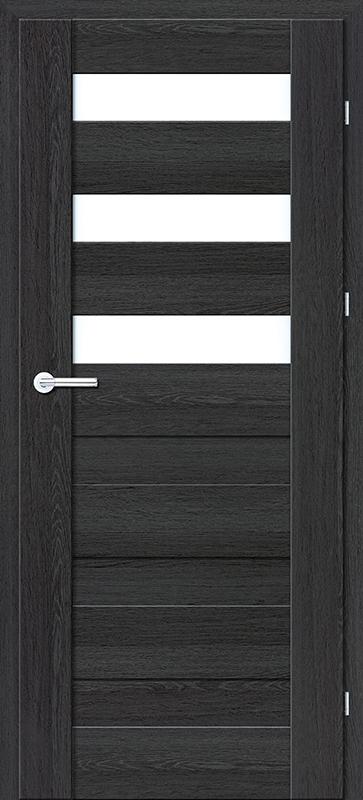 Врата Класен цвят Дъб Антриацит мод.6 - 290.00 лв.