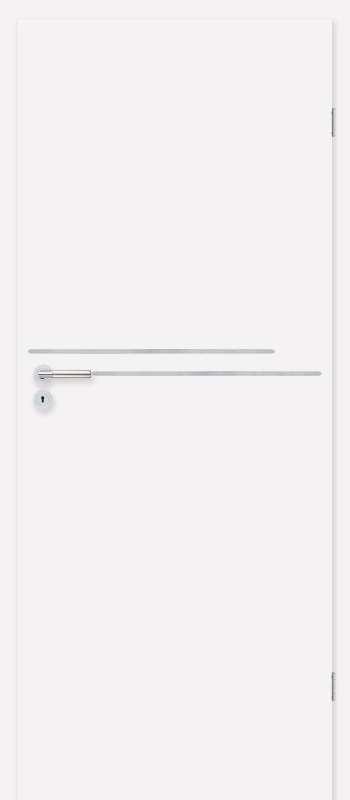 Врата Класен цвят Бял CPL ламинат фолио мод.3 - 330.00 лв.