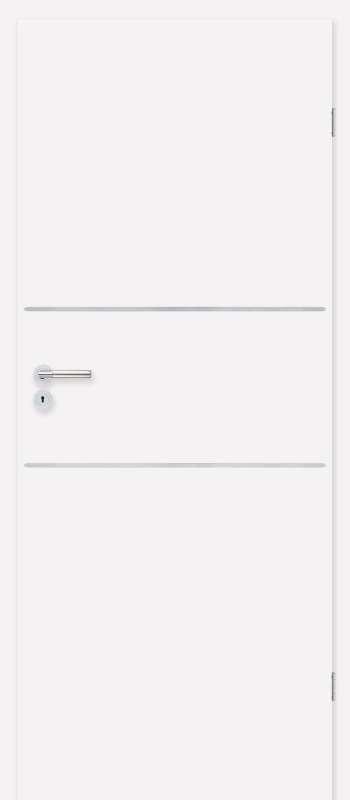 Врата Класен цвят Бял CPL ламинат фолио мод.6 - 330.00 лв.