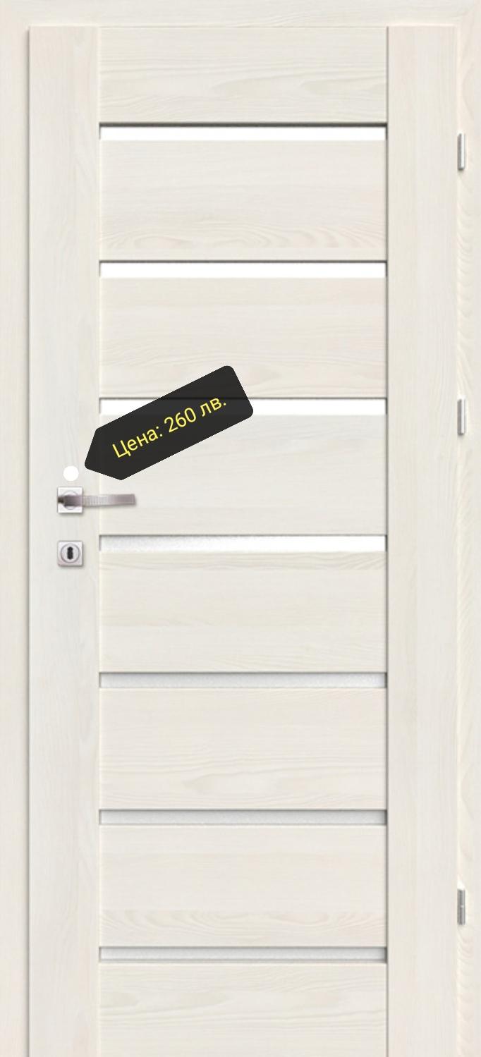 Врата Classen Греко м.3  Ясен бял Primo фолио  - 260.00 лв.