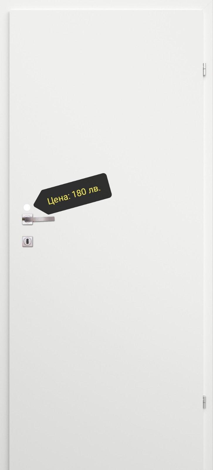 Врата Classen Линеа м.2.12 Бял УВ лак - 180.00 лв.