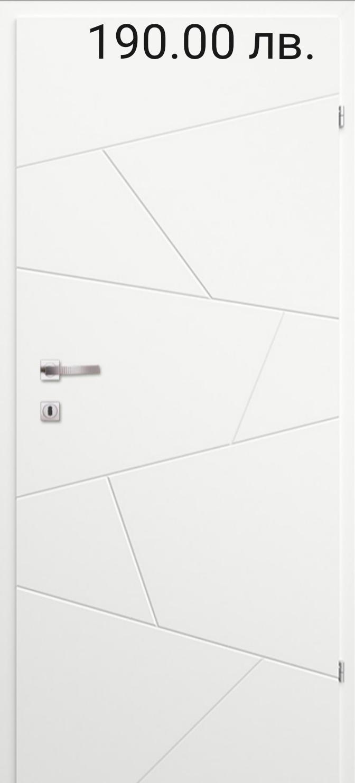 Врата Classen Линеа м.2.12 Бял УВ лак - 190.00 лв.